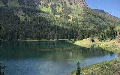 Hiking the Flat Tops Wilderness via Marvine Loop