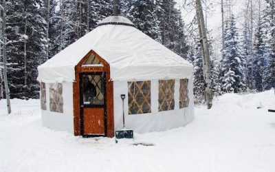 Lend a Hand at the Annual Yurt Raising